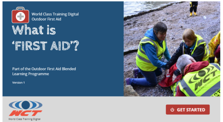 Outdoor First Aid Blended learning course