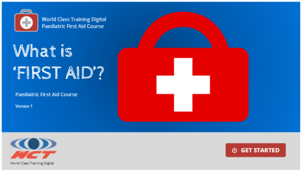 Online Paediatric First Aid