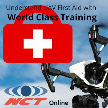 UAV first aid